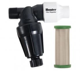 Фильтр стальной Hunter HFR-100-75-40 (с регулятором давления 2.8 бар) - UKRPOLIV